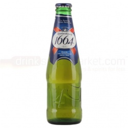 Kronenbourg 1664 24 x 275ml bottles (out of date)