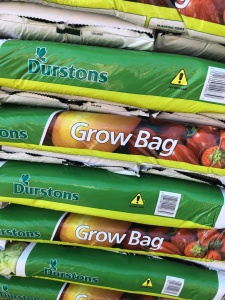 4 Plant Growbags .............£2.25 or 5 for £10.00