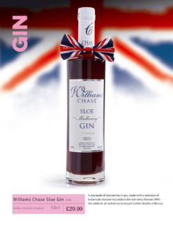 Chase Sloe Mullbery Gin 50cl