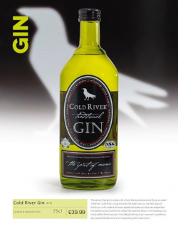 Cold River Gin 75cl