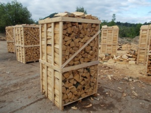 Jumbo Crate of Kiln Dried Logs