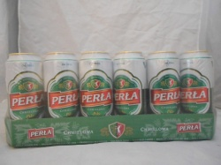 Perla Green Pils 24 x 500ml cans (out of date)
