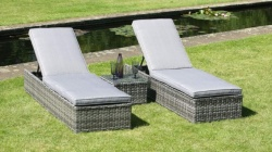 Pacific 3Pce Lounger Set