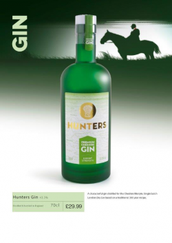 Hunters Gin 70cl