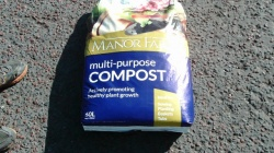 60 LTR Multipurpose compost  £3.50 or 4 for £10.00