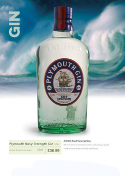 Plymouth Navy Strength Gin 70cl