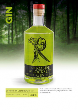 Sir Robin of Locksley Gin 70cl