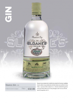 Sloanes Gin 70cl