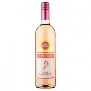 Barefoot Pink Pinot Grigio case of 6 or £6.99 per bottle