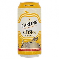 Carling Apple Cider 24 x 440ml can