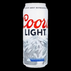 Coors Light Beer 24 x Pint cans