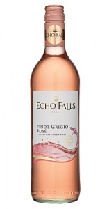 Echo Falls Pinot Grigio Rosé case of 6 or £5.49 per bottle