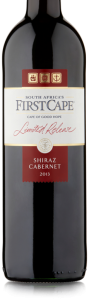 First Cape Shiraz Cabernet case of 6 or £3.99 per bottle