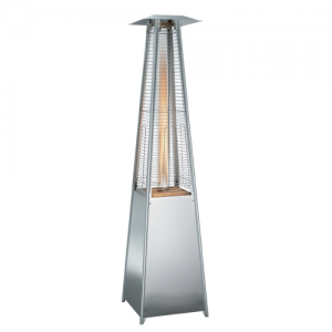 Royal Flame Tower Patio Heater (Stainless Steel)