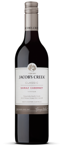 Jacobs Creek Shiraz Carbernet case of 6 or £5.99 per bottle