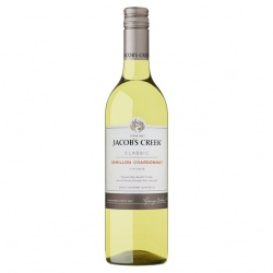 Jacobs Creek Semillon Chardonnay case of 6 or £5.99 per bottle
