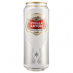 English Stella Artois 24 x 500ml cans