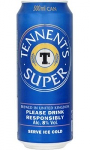 Tennents Super 24 x 500ml cans