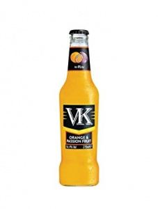 VK Orange and Passionfruit 24 x 275ml bottles
