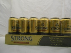 Warka strong 24 x 500ml cans