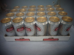 Stella Artois 24 x 440ml cans (out of date)