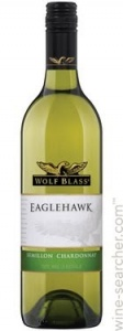 Wolf Blass EagleHawk Semillion Chardonnay case of 6 or £6.49 per bottle