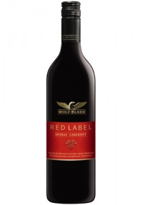 Wolf Blass Red Label Shiraz Cabernet 2013 case of 6 or £5.99 per bottle